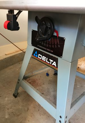"Delta 10"" Professional Table Saw for Sale in Woodstock, MD"
