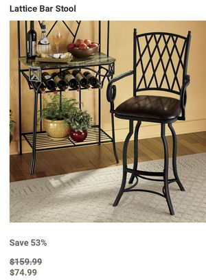Set of 3 Lattice Barstools for Sale in Dunlap, TN