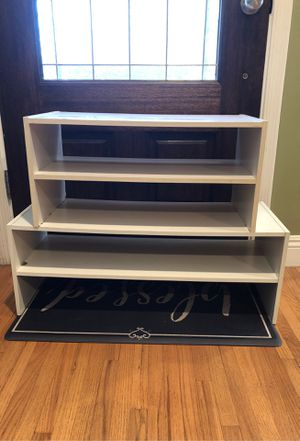White shoes storage for Sale in Monterey Park, CA