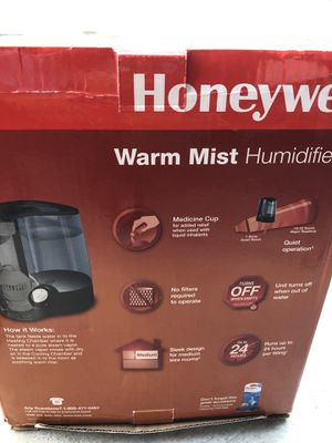 Honeywell warm mist humidifier for Sale in Fremont, CA