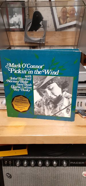 Mark O'Connor Picking In The Wind Vinyl Record for Sale in Hillsboro, OR