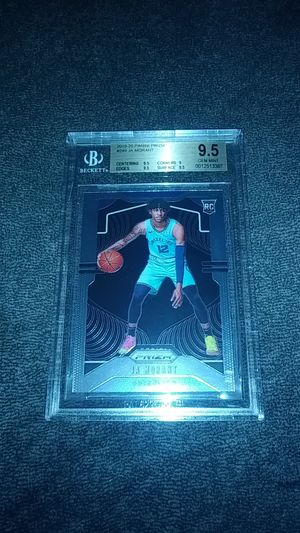 Ja Morant Panini Prizm RC BGS 9.5 Gem Mint for Sale in Clearwater, FL