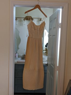 Yellow cream color dress, very detailed and vintage yet modern looking for Sale in Hialeah, FL