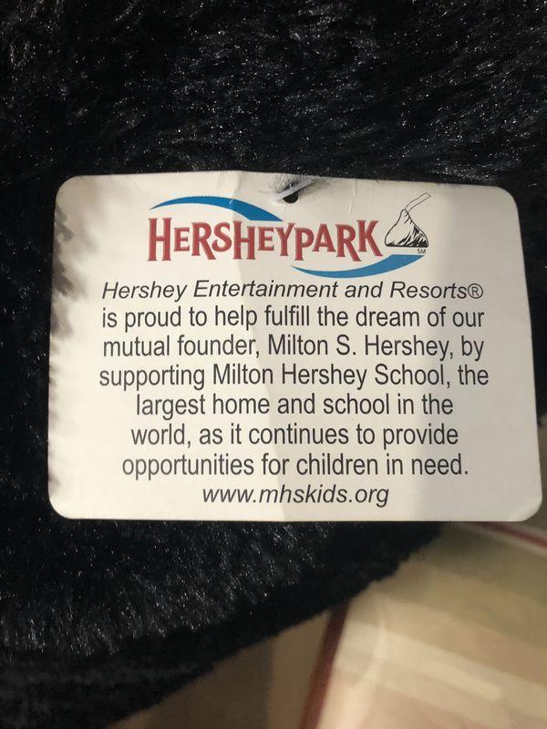 Large Stuffed Hershey's Park Bears