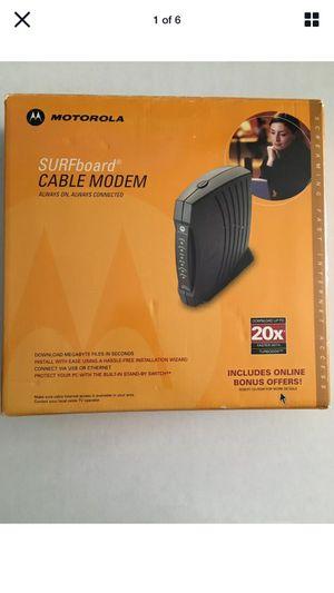 Motorola Surfboard cable modem sb5120 for Sale in Montclair, CA
