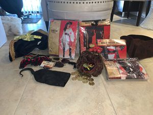 Man and Women Complete pirate costumes for Sale in Hialeah, FL