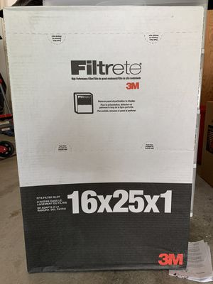 New 3M Filtrete Filter 16x25x1 for Sale in Thousand Oaks, CA