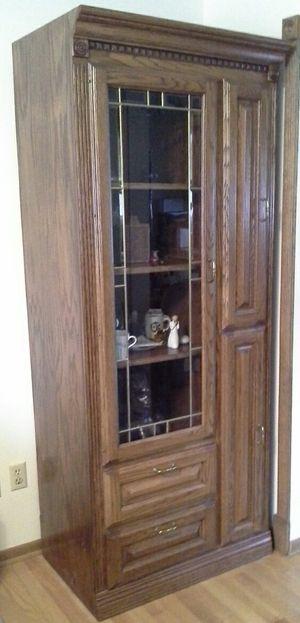 Curio/AV Cabinet for Sale in Eden Prairie, MN