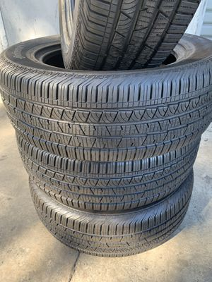 Tires 245-60r18 Continental for Sale in Anaheim, CA