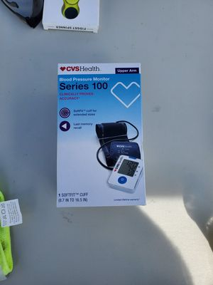 CVS Health Dual User Automatic Inflate Blood Pressure Monitor for Sale in Palatine, IL