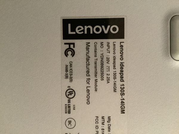 "Lenovo 14"" IdeaPad 130S Laptop"