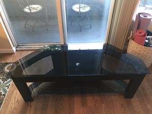 """TV Stand (up to 50"""") - Black - Pick-up in Queen Anne for Sale in Seattle, WA"""