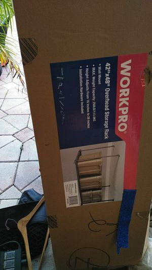 Space saver Workpro storage rack for Sale in Fort Lauderdale, FL