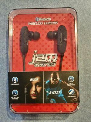 Jam Transit Buds Bluetooth Wireless Earbuds for Sale in Seffner, FL