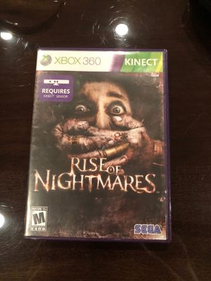Rise of nightmares Xbox 360 game for Sale in Dallas, TX