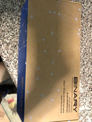 Binary 3x1 HDMI switch for Sale in Scarsdale, NY