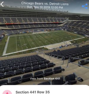 Bears vs NY Giants - 2 tickets - Sunday 11/24 for Sale in Chicago, IL
