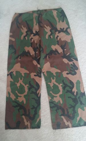 Army Camouflage Pants/Child's Halloween Costume for Sale in Montgomery Village, MD