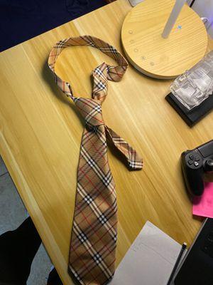 Burberry tie for Sale in Orange, CA
