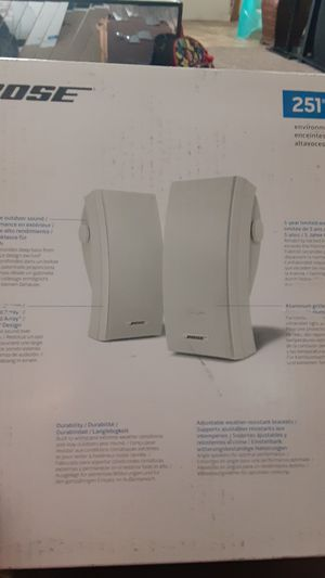 Bose 251 Environmental Speakers for Sale in Columbus, OH