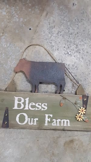 Cute cow sign for Sale in Kennewick, WA