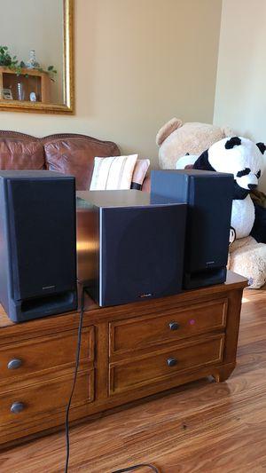 Polkaudio powerd subwoofer & 2 pioneer speakers for Sale in San Diego, CA
