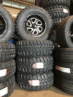 Ford F-150 Fuel Off Road Wheels and Tires Brand New for Sale in Chicago, IL