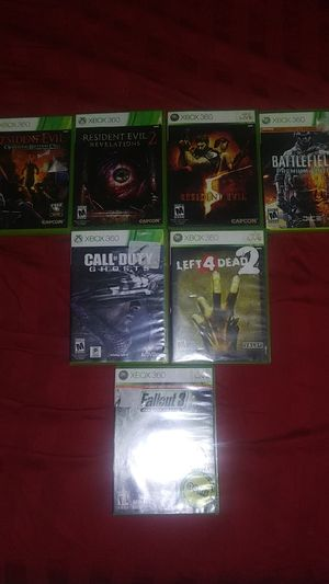 Xbox 360 games for Sale in Blasdell, NY