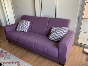 VERY comfy couch - unfolds into bed! for Sale in Silver Spring, MD