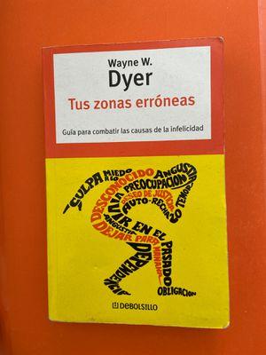 Spanish book - Tus Zonas Erróneas - Wayne Dyer español for Sale in Temecula, CA