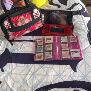 Nintendo 3DS 11 Games And Case And Charger for Sale in Phoenix, AZ
