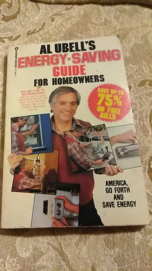 1980 Al Ubell's energy-efficient book for Sale in Everett, WA