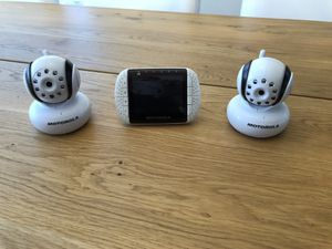Motorola MBP36 Remote Wireless Video Baby Monitor withColor LCD Screen for Sale in Lake Forest, CA