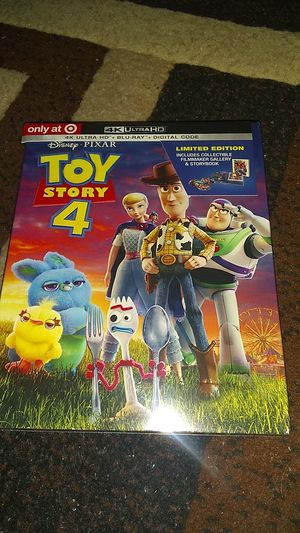 TOY STORY 4 SPECIAL EDITION!!!! 4K BRAND NEW SEALED NEVER OPENED ASKING $20.00 for Sale in Phoenix, AZ