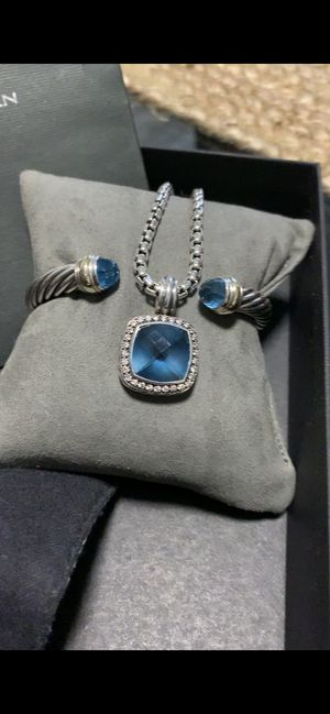 David Yurman bracelet with the necklace for Sale in Mount Prospect, IL
