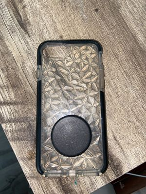 iPhone 7,8 case included the pop socket for Sale in Kannapolis, NC