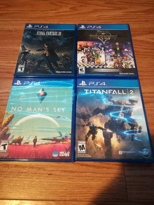 Four PS4 Games for Sale in Arlington, TX