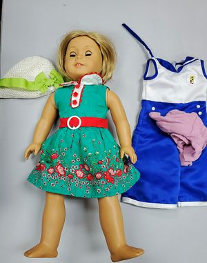 Kit American Girl doll with extra outfit for Sale in Davie, FL