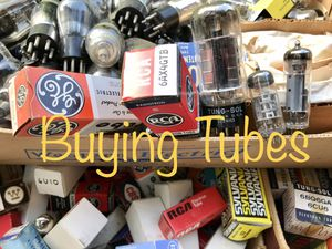 Buying Vacuum Tubes and Tube Equipment for Sale in Akron, OH