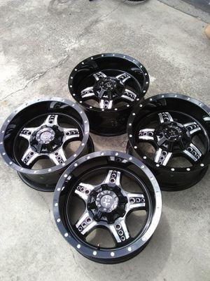 (4) 20 inch 20x10 RBP wheels rims 6x5.5 6x139.7 Chevy GMC Toyota 1500 tundra Titan Silverado Sierra Tahoe Cadillac Lexus Nissan for Sale in Port St. Lucie, FL