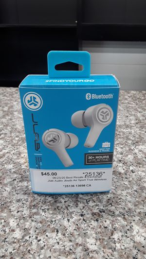 Jlab Audio Jbuds Air Sport True Wireless Headphones for Sale in Willoughby, OH