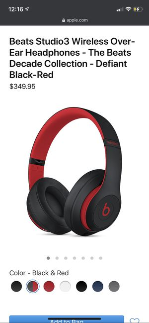 Beats Studio Wireless/Wire 3 DBR Edition for Sale in Centre Hall, PA