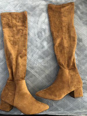 Over then knee thigh high boots for Sale in Long Beach, CA
