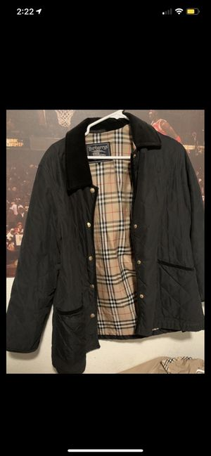 Mens Burberry Jacket for Sale in Morgan Hill, CA