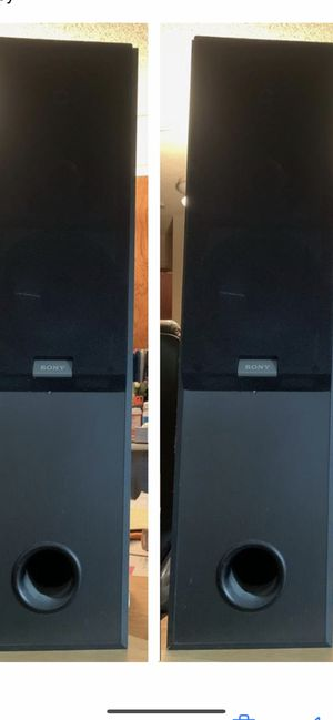 Pair of Sony Speakers.. for Sale in Issaquah, WA