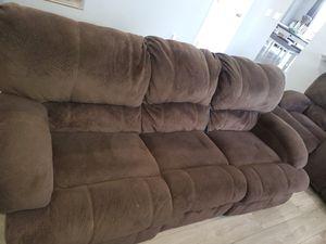 power reclining sofa set in good shape for Sale in Oakley, CA
