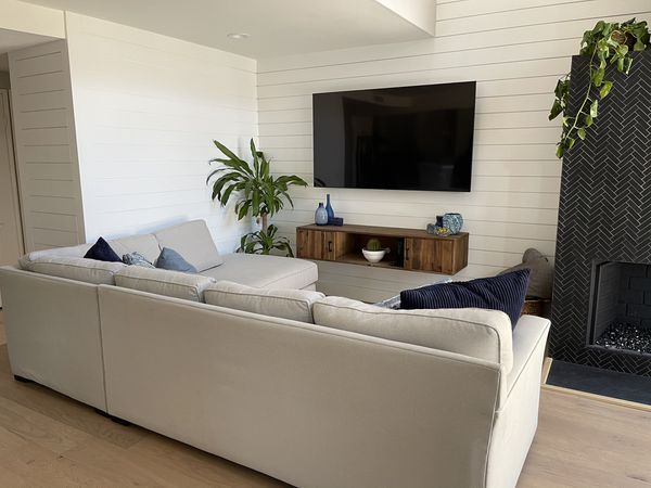 Custom L-Shape Sofa Bed Couch