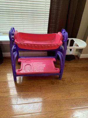 Pink doll crib for little girls for Sale in Ashburn, VA