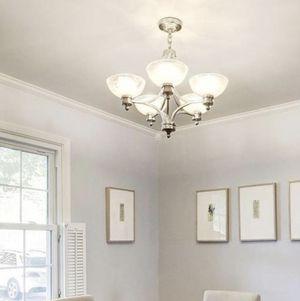 5 light chandelier for Sale in Bethesda, MD