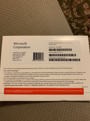 Windows 10 pro for Sale in Anaheim, CA